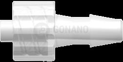Fitting männlich (Serie 200) f. Schlauch ID 4,0 mm trüb