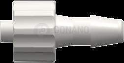 Fitting männlich (Serie 200) f. Schlauch ID 4,0 mm weiß