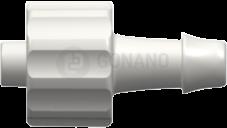 Fitting männlich (Serie 500) f. Schlauch ID 4,0 mm weiß