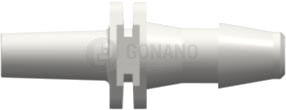 Fitting männlich Slip (Serie 200) f. Schlauch 4,0 mm weiß