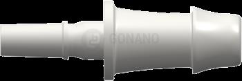 Fitting männlich Slip(Serie 500L)f. Schlauch 4,8 mm weiß