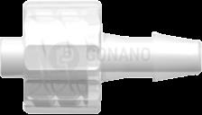 Fitting männlich (Serie 200) f. Schlauch ID 3,2 mm trüb