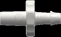 Fitting männlich Slip (Serie 500) f. Schlauch 3,2 mm weiß