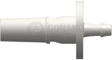 Fitting männlich Slip(Serie 500L)f. Schlauch 1,6 mm weiß