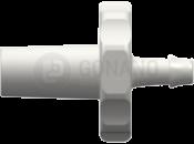Fitting männlich Slip (Serie 500) f. Schlauch 1,6 mm weiß