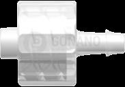 Fitting männlich (Serie 500) f. Schlauch ID 2,4 mm trüb