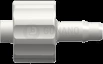 Fitting männlich (Serie 400) f. Schlauch ID 3,2 mm weiß