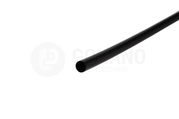 LDPE-Steuerleitung Schwarz 4x2.5