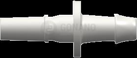 Fitting männlich Slip(Serie 500L)f. Schlauch 4,0 mm weiß
