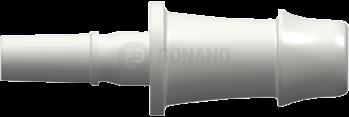 Fitting männlich Slip(Serie 500R)f. Schlauch 6,4 mm weiß