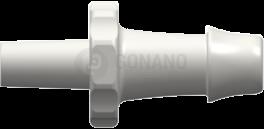 Fitting männlich Slip (Serie 500) f. Schlauch 4,8 mm weiß