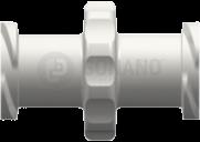 Kupplungsfitting (Gewinde) weiblich weiß