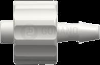 Fitting männlich (Serie 200) f. Schlauch ID 2,4 mm weiß