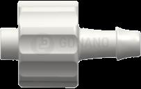 Fitting männlich (Serie 500) f. Schlauch ID 3,2 mm weiß