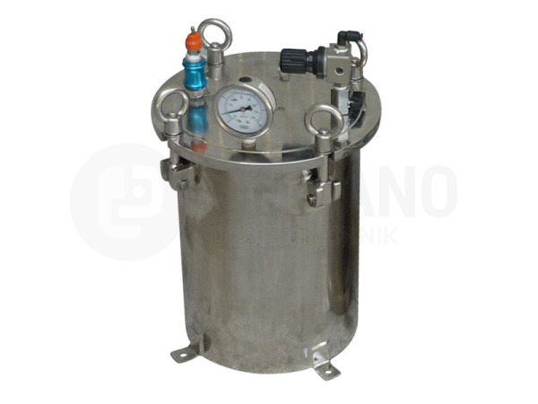 Druckbehälter 10 Liter, Edelstahl
